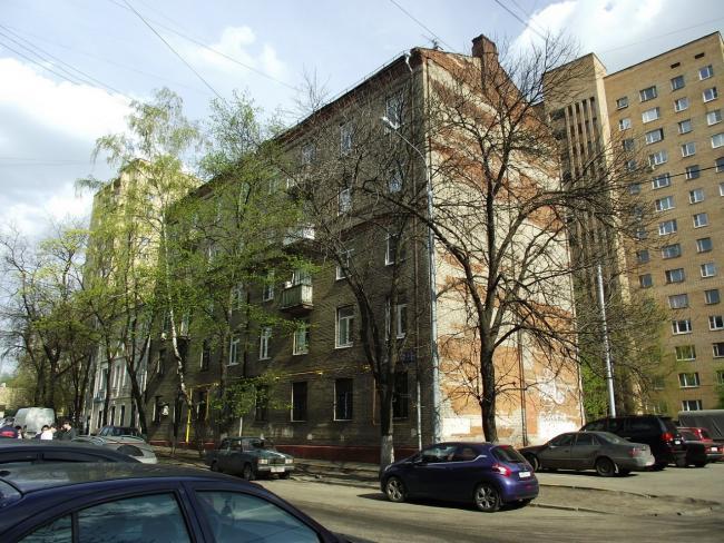 Москва, 3-й Красносельский переулок, дом 7, Серия II-01 (ЦАО, район Красносельский)