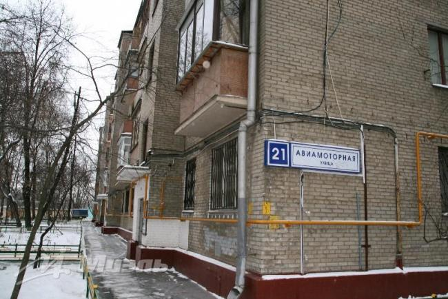Москва, Авиамоторная улица, дом 21, Серия П-28 (ЮВАО, район Лефортово)