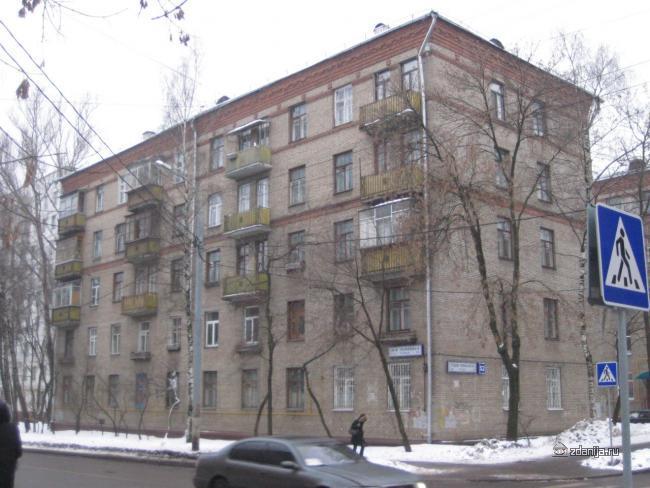 Москва, Средняя Первомайская улица, дом 52, Серия II-01 (ВАО, район Восточное Измайлово)