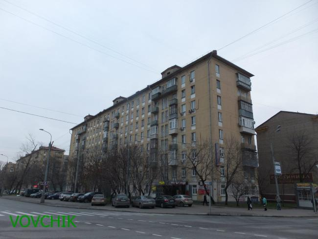 Москва, улица Космонавтов, дом 6, Серия II-04 (СВАО, район Алексеевский)
