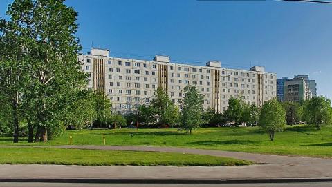 Москва, Производственная улица, дом 1, Серия I605-АМ (ЗАО, район Солнцево)