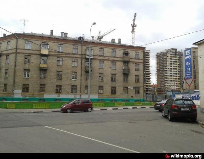 Москва, улица Мельникова, дом 1, Серия II-01 (ЮВАО, район Южнопортовый)