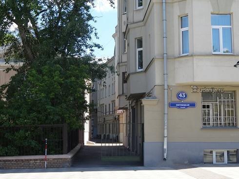 Москва, Пятницкая улица, дом 43, строение 3 (ЦАО, район Замоскворечье)