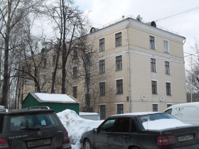 Москва, 5-й Донской проезд, дом 21, корпус 4, Серия II-01 (ЮАО, район Донской)