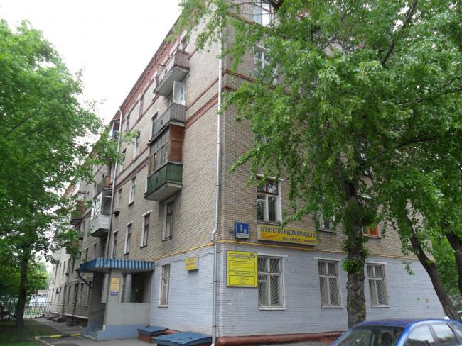 Москва, Нахимовский проспект, дом 1, корпус 2, Серия II-01 (ЮАО, район Нагорный)