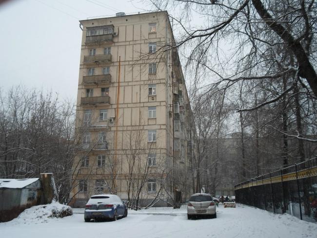 Москва, улица Хамовнический Вал, дом 14 (ЦАО, район Хамовники)