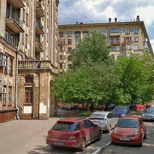 Москва, улица Космонавта Волкова, дом 3 (САО, район Войковский)