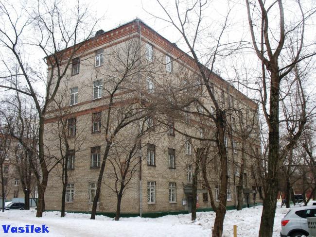 Москва, 1-я Хуторская улица, дом 10, корпус 2, Серия: II-01 (САО, район Савеловский)
