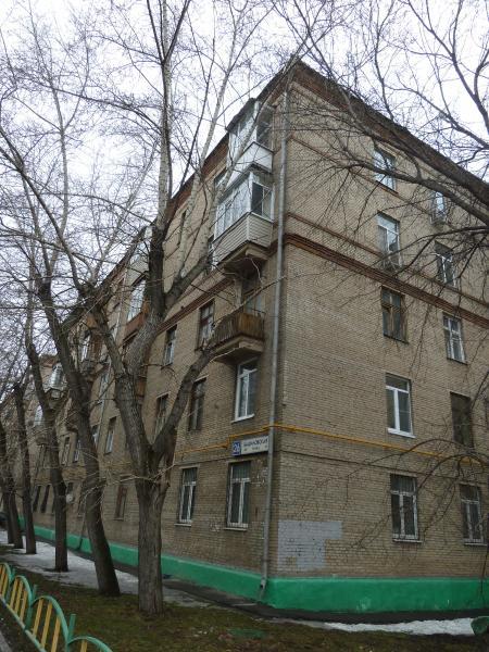 Москва, Башиловская улица, дом 26, Серия: II-01 (САО, район Савеловский)