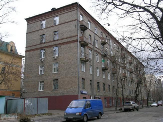 Москва, 4-я Сокольническая улица, дом 1, корпус 1, Серия II-01 (ВАО, район Сокольники)