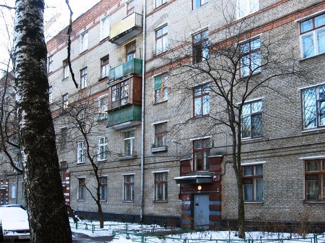 Москва, улица Чистова, дом 27, Серия II-01 (ЮВАО, район Текстильщики)