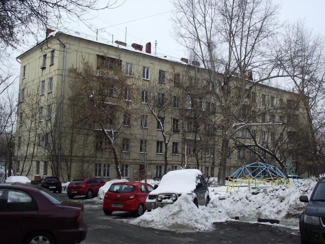 Москва, Причальный проезд, дом 1, Серия II-05 (ЦАО, район Пресненский)