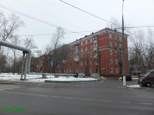 Москва, Лонгиновская улица, дом 10, Серия II-01 (ЮВАО, район Лефортово)