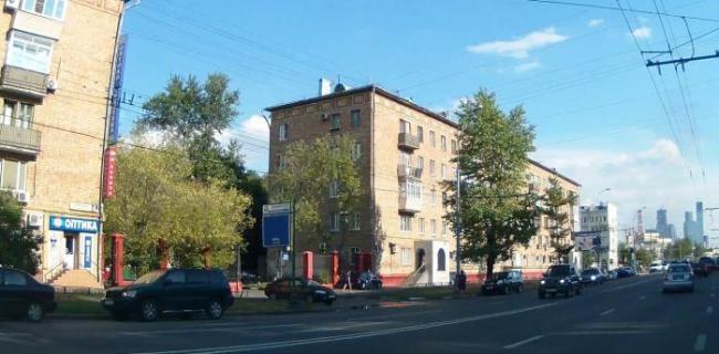 Москва, улица Куусинена, дом 2, корпус 1. Серия II-05 (САО, район Хорошевский)