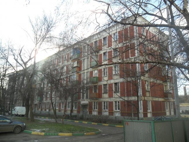 Москва, 2-я Владимирская улица, дом 17. Серия II-05 (ВАО, район Перово)