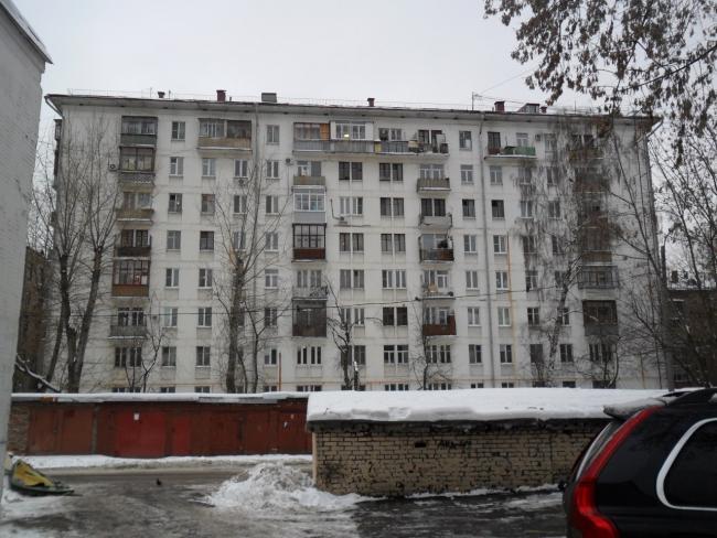 Москва, Люблинская улица, дом 23. Серия II-04 (ЮВАО, район Текстильщики)