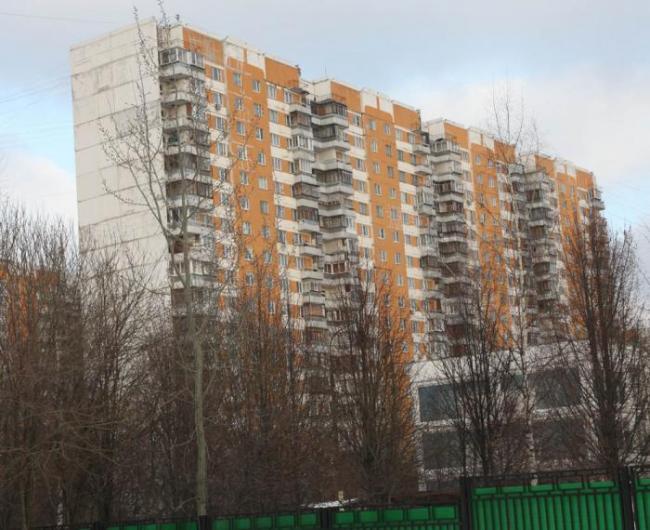 Москва, Волоцкой переулок, дом 13, корпус 1, Серия - П-3 (СЗАО, район Митино)