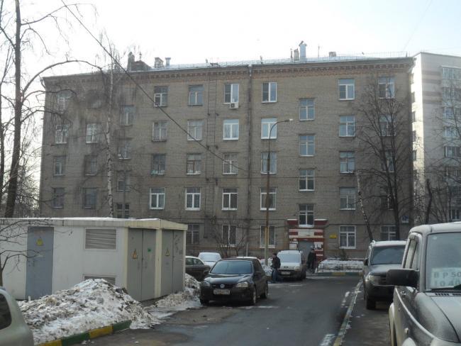 Москва, Севастопольский проспект, дом 7, корпус 4, Серия-II-01 (ЮАО, район Донской)