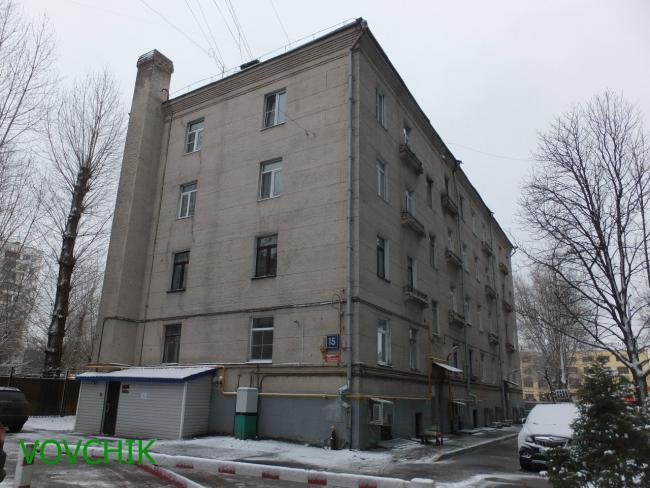 Москва, улица Климашкина, дом 15, Серия II-01 (ЦАО, район Пресненский)