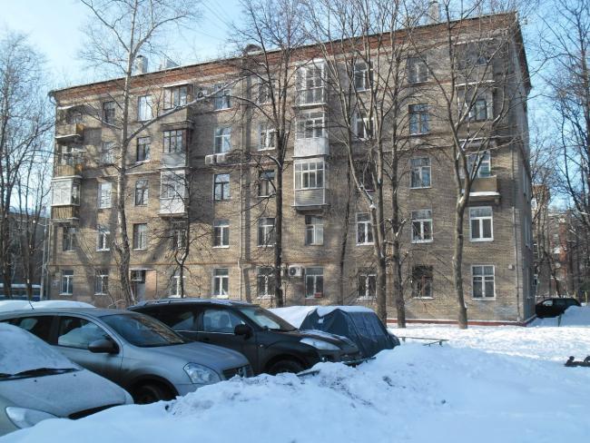 Москва, Планетная улица, дом 31, Серия II-01 (САО, район Аэропорт)