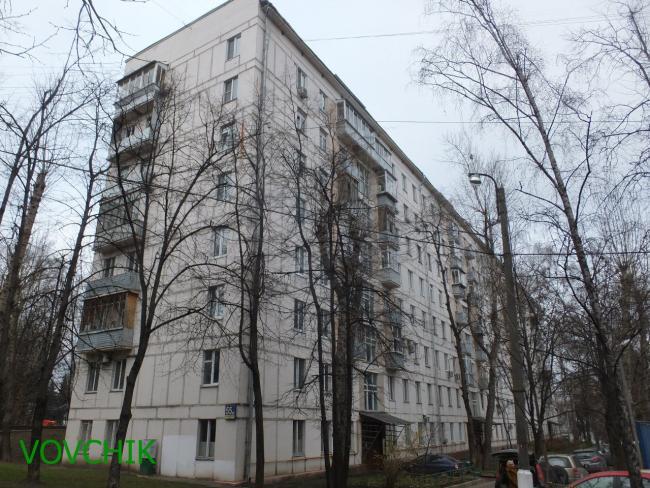 Москва, Варшавское шоссе, дом 55, корпус 1. Серия II-04 (ЮАО, район Нагатино-Садовники)