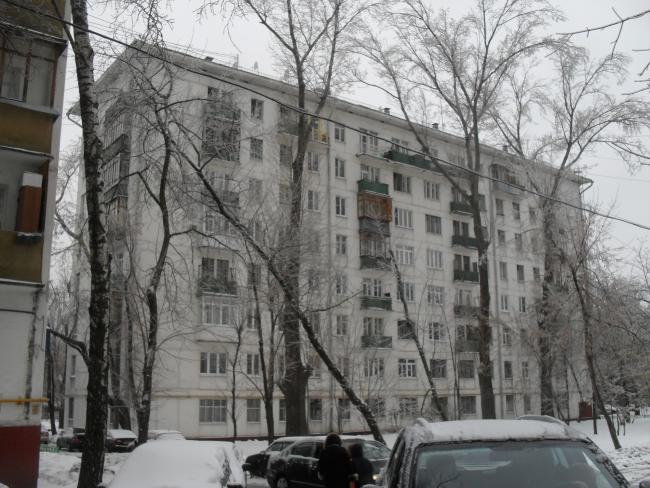 Москва, Люблинская улица, дом 19. Серия II-04 (ЮВАО, район Текстильщики)