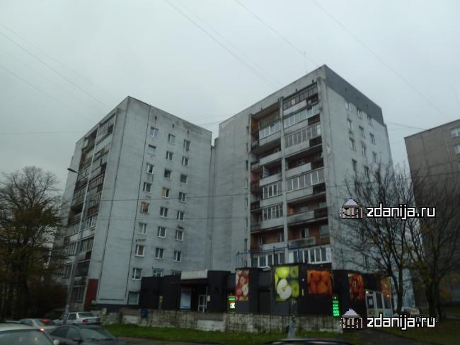 1-447с-42 (отр.адм.) типовой дом в Калининграде, девятиэтажка, башня