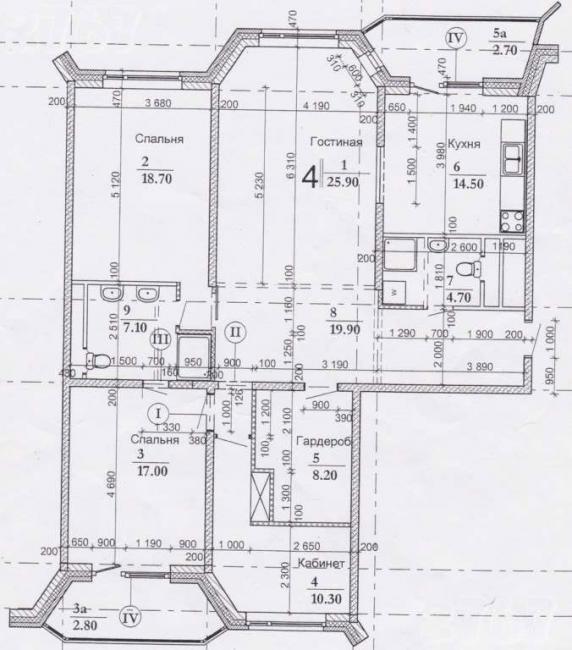 Москва, Новочеремушкинская улица, дом 34, корпус 1 (ЮЗАО, район Академический)