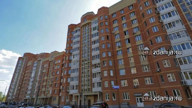 Москва, Ярославское шоссе, дом 26, корпус 6 (СВАО, район Ярославский)