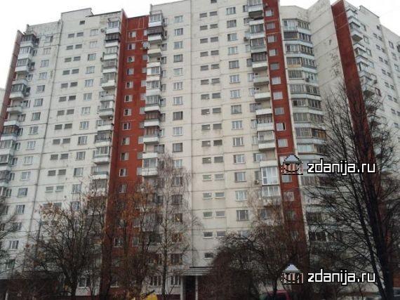 Москва, улица Раменки, дом 25, корпус 3, Серия - П-3 (ЗАО, район Раменки)
