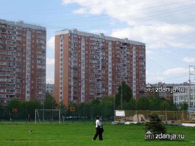 Москва, аллея Жемчуговой, дом 5, корпус 5 (ВАО, район Вешняки)