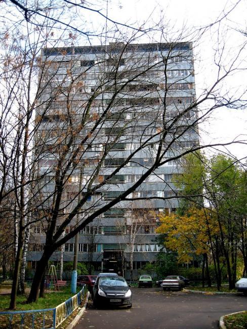 Москва, Косинская улица, дом 14, корпус 1, Серия И209а (ВАО, район Вешняки)