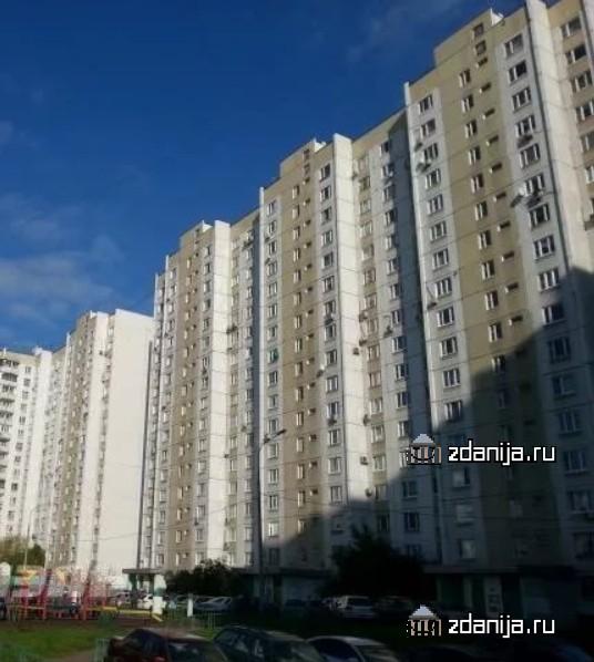 Москва, Вешняковская улица, дом 12, корпус 1 (ВАО, район Вешняки)