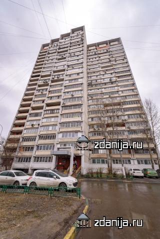 Москва, Саянская улица, дом 7, корпус 1 (ВАО, район Ивановское)