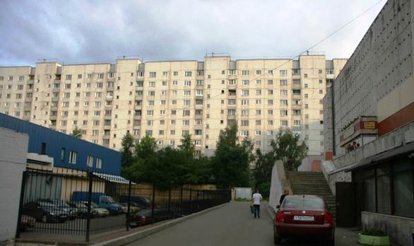 Москва, улица Пришвина, дом 17 (СВАО, район Бибирево)