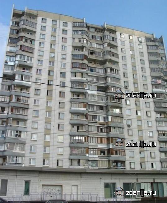 Москва, улица Гурьянова, дом 69, корпус 2, Серия П-44 (ЮВАО, район Печатники)