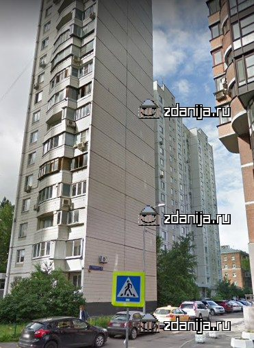 Москва, 2-я Филевская улица, дом 7, корпус 1, Серия П-44 (ЗАО, район Филевский Парк)