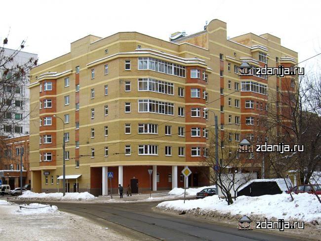 Москва, 3-й Самотечный переулок, дом 13 (ЦАО, район Тверской)