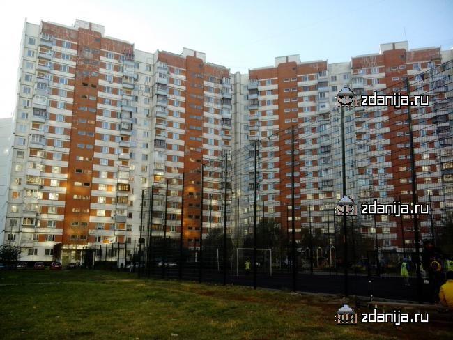 Москва, Новокосинская улица, дом 12, корпус 2, Серия - П-3 (ВАО, район Новокосино)