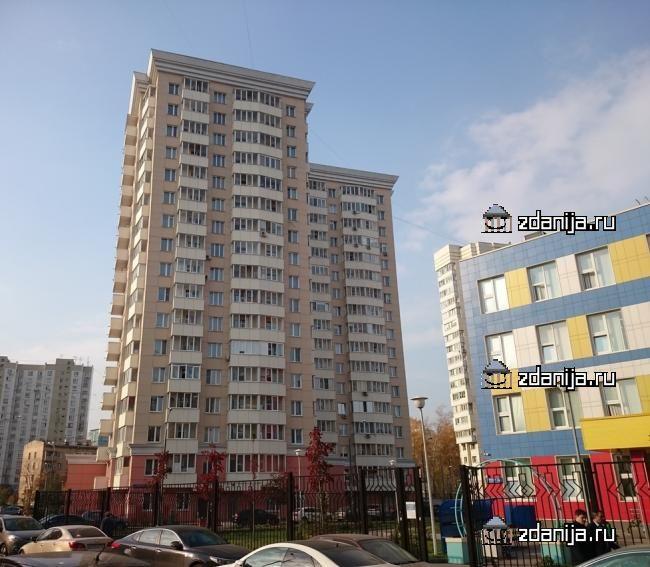 Москва, 3-я Филевская улица, дом 6, корпус 2 (ЗАО, район Филевский Парк)