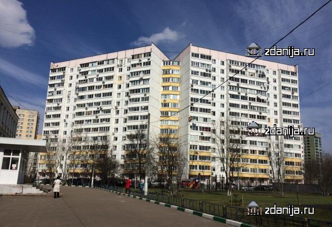 Москва, улица Вилиса Лациса, дом 23, корпус 4, Серия П-46м (СЗАО, район Северное Тушино)