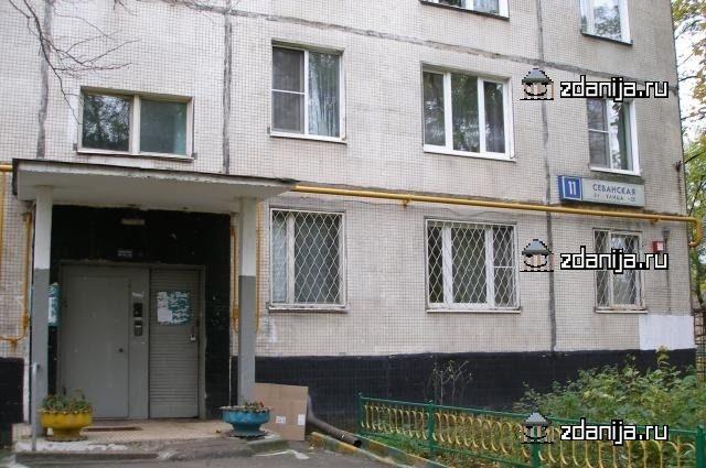 Москва, Севанская улица, дом 11, Серия: II-49Д (ЮАО, район Царицыно)