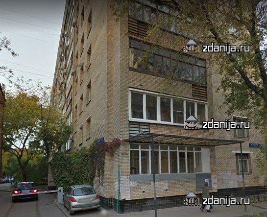 Москва, 1-й Самотечный переулок, дом 12, строение 1 (ЦАО, район Тверской)