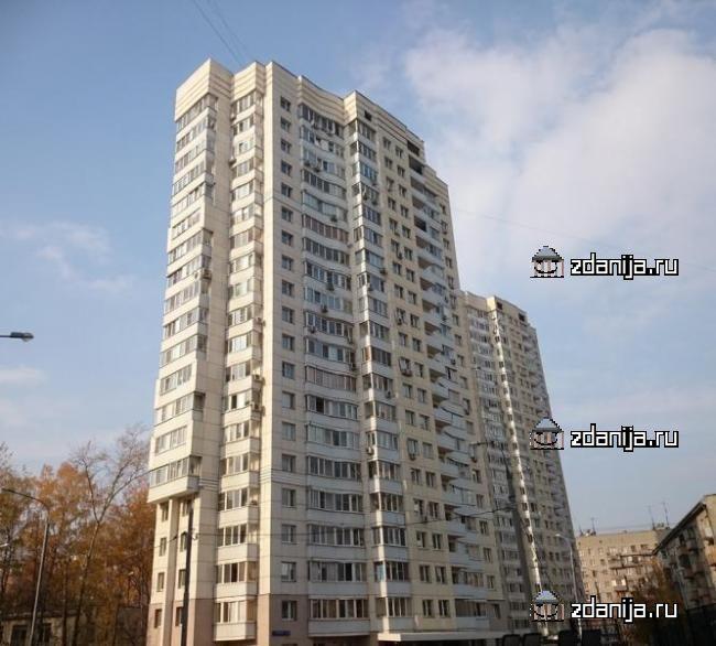 Москва, 3-я Филевская улица, дом 8, корпус 4 (ЗАО, район Филевский Парк)