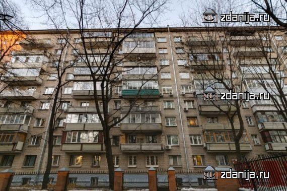 Москва, улица Константина Симонова, дом 4 (САО, район Аэропорт)