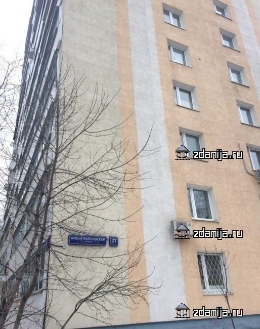 Москва, Малая Пироговская улица, дом 27, корпус 1, Серия И209а (ЦАО, район Хамовники)