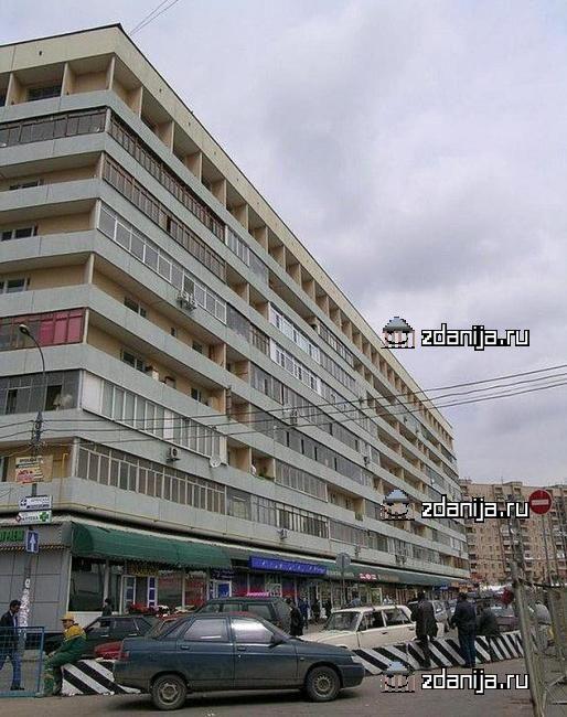 Москва, Брянская улица, дом 2 (ЗАО, район Дорогомилово)
