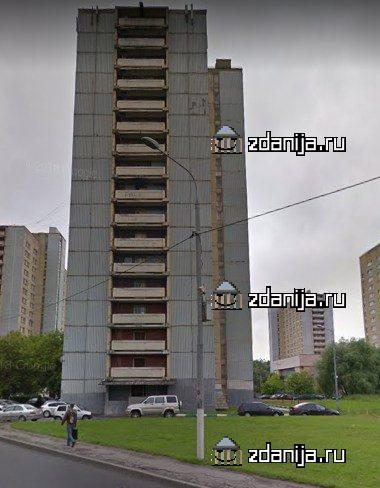 Москва, улица Вилиса Лациса, дом 19, корпус 1 (СЗАО, район Северное Тушино)