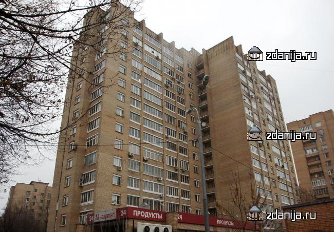 Москва, 1-й Самотечный переулок, дом 2, строение 1 (ЦАО, район Тверской)