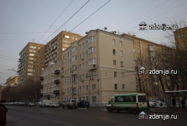 Москва, Большая Пироговская улица, дом 35А, строение 1 (ЦАО, район Хамовники)